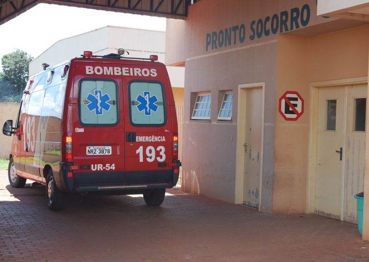 Rapaz foi socorrido pelo Corpo de Bombeiros e encaminhado ao pronto socorro do Hospital da Sias. (Foto: Arquivo - Renato Vessani / Vicentina Online)