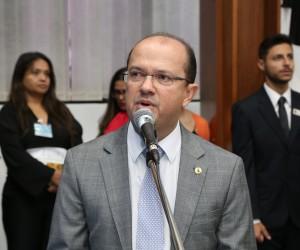 Deputado Barbosinha defende aliança com PSDB e apoio à reeleição de Azambuja - Victor Chileno / ALMS