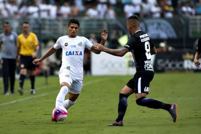 Santos e Corinthians ficaram no empate. Foto: Ivan Storti/Santos